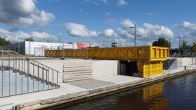 Rolbrug Roosendaalse Vliet